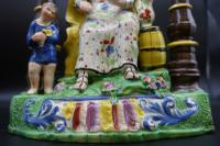 Important Early 19th Century Staffordshire Pair of Elijah & Wife (2 of 8)