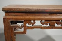 Early 20th Century Pair of Strongly Designed Elm Half Tables (3 of 6)