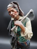 Very Well Modelled Mid 19th Century Papier-Mâché Italian Crib Figure (4 of 5)