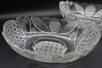 Exceptional Pair of Late 19th Century Shallow Cut Bowls (3 of 5)