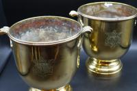 Fine Quality Pair of Late 19th Century Champagne Buckets (6 of 9)