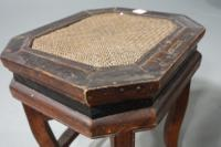 Early 20th Century Chinese Octagonal Low Table (4 of 5)