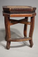 Early 20th Century Chinese Octagonal Low Table (5 of 5)