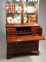 Very Good Chippendale Period Mahogany Secretaire Bookcase (8 of 11)