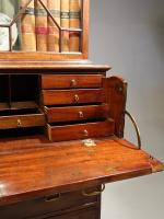 Very Good Chippendale Period Mahogany Secretaire Bookcase (9 of 11)