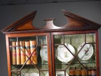 Very Good Chippendale Period Mahogany Secretaire Bookcase (2 of 11)