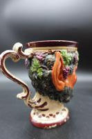 Well Modelled Mid 19th Century Bacchus Pottery Jug (3 of 5)