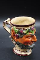 Well Modelled Mid 19th Century Bacchus Pottery Jug (5 of 5)