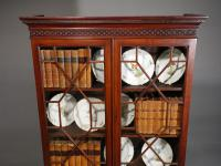 Small Chippendale Period Glazed Bookcase on Chest (6 of 10)