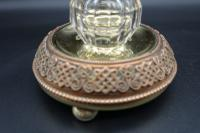 Finely Cast Early 20th Century French Copper, Bronze & Brass Inkwell (3 of 5)