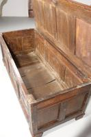 Large & Well Carved 17th Century Four Panelled Coffer (6 of 7)