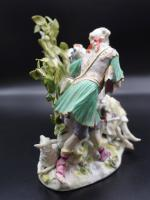 Complex Late 19th Century Meissen Group of Lovers (5 of 6)