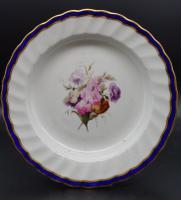 Fine Set of 6 Late 18th Century Derby Plates Painted by William Billingsley (8 of 15)