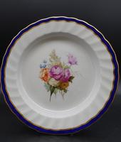 Fine Set of 6 Late 18th Century Derby Plates Painted by William Billingsley (2 of 15)
