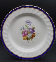 Fine Set of 6 Late 18th Century Derby Plates Painted by William Billingsley (14 of 15)