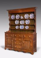19th Century Oak Dresser & RAck (2 of 7)