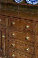19th Century Oak Dresser & RAck (4 of 7)