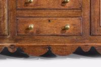 19th Century Oak Dresser & RAck (5 of 7)