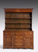 19th Century Oak Dresser & RAck (7 of 7)