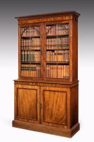 Regency Period Mahogany Bookcase with Gothic Tracery (2 of 7)