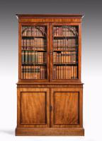Regency Period Mahogany Bookcase with Gothic Tracery (3 of 7)