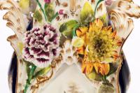 Late 19th Century Trio of Coalbrookdale Vases (5 of 8)