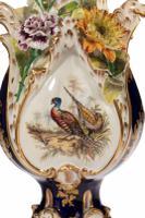 Late 19th Century Trio of Coalbrookdale Vases (8 of 8)