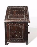 17th Century Style Oak Miniature Kist C.1890 (5 of 5)