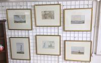 Set of 6 Russell Flint Prints