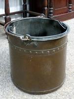 Copper Coal Bucket C.1900