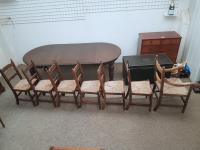 Country Dining Chairs 6+1 (2 of 6)