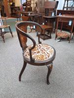 Inlaid Chair c.1890 (4 of 6)