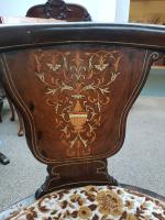 Inlaid Chair c.1890 (6 of 6)