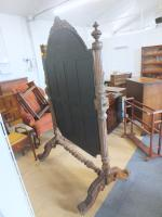 Large Cheval Mirror c.1880 (4 of 5)