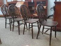 4 Country Chairs c.1920 (4 of 4)