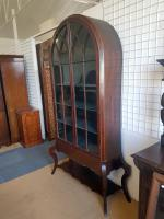 Tall Arch Top Bookcase C.1890 (2 of 5)