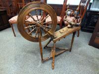 Antique Spinning Wheel c.1880 (5 of 6)