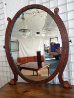 Antique Dressing Mirror c.1850 (4 of 6)