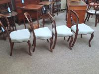 4 Balloon Back Chairs (2 of 6)