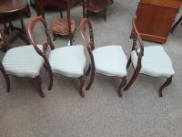 4 Balloon Back Chairs (3 of 6)