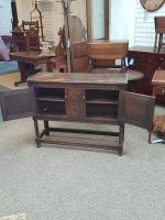 1920s Oak Sideboard (4 of 6)