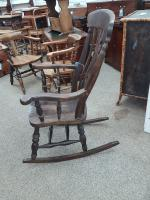 Antique Country Rocking Chair (2 of 3)