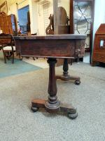 Rosewood Writing Table (7 of 7)