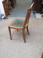 Edwardian Inlaid Chair (4 of 6)