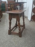 Oak Stool c.1920 (2 of 4)