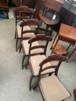 4 Antique Dining Chairs (2 of 5)