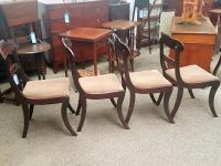 4 Antique Dining Chairs (3 of 5)