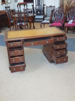 Antique Pedestal Desk (3 of 5)