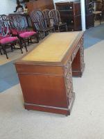Antique Pedestal Desk (4 of 5)