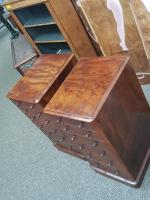 Pair of Pedestal Chests c.1860 (2 of 6)
